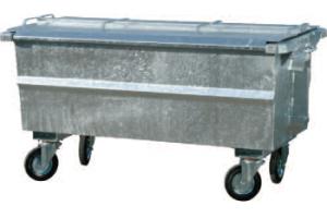 gebruikte afvalcontainer